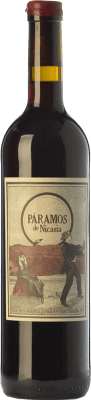 16,95 € Free Shipping | Red wine Máquina & Tabla Páramos de Nicasia Crianza D.O. Toro Castilla y León Spain Tinta de Toro Bottle 75 cl