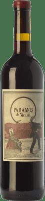 16,95 € Kostenloser Versand | Rotwein Máquina & Tabla Páramos de Nicasia Crianza D.O. Toro Kastilien und León Spanien Tinta de Toro Flasche 75 cl