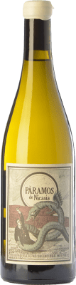 12,95 € Free Shipping | White wine Máquina & Tabla Páramos de Nicasia Crianza D.O. Rueda Castilla y León Spain Verdejo Bottle 75 cl