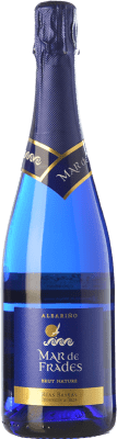 14,95 € Free Shipping | White sparkling Mar de Frades Brut Nature D.O. Rías Baixas Galicia Spain Albariño Bottle 75 cl | Thousands of wine lovers trust us to get the best price guarantee, free shipping always and hassle-free shopping and returns.