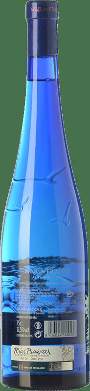 15,95 € Envio grátis | Vinho branco Mar de Frades D.O. Rías Baixas Galiza Espanha Albariño Garrafa 75 cl