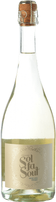 11,95 € Free Shipping | White sparkling Pelleriti Sol Fa Soul Espumante Sweet I.G. Valle de Uco Uco Valley Argentina Torrontés, Chardonnay Bottle 75 cl