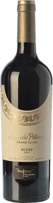 72,95 € Free Shipping | Red wine Pelleriti Grand Cuvée Blend Gran Reserva I.G. Valle de Uco Uco Valley Argentina Cabernet Franc, Malbec Bottle 75 cl