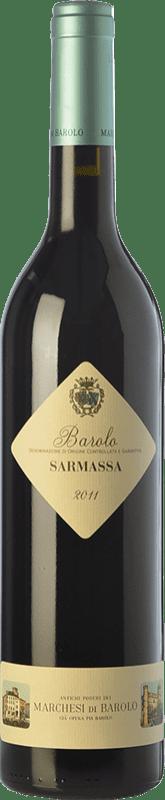 51,95 € Envoi gratuit | Vin rouge Marchesi di Barolo Sarmassa D.O.C.G. Barolo Piémont Italie Nebbiolo Bouteille 75 cl