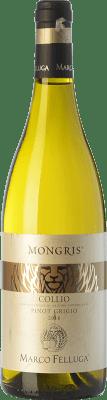 15,95 € Free Shipping | White wine Marco Felluga Pinot Grigio Mongris D.O.C. Collio Goriziano-Collio Friuli-Venezia Giulia Italy Pinot Grey Bottle 75 cl