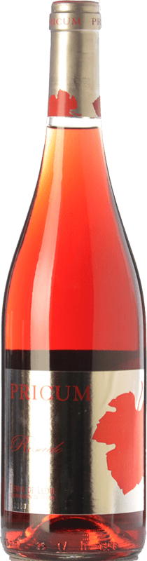9,95 € Free Shipping | Rosé wine Margón Pricum D.O. Tierra de León Castilla y León Spain Prieto Picudo Bottle 75 cl