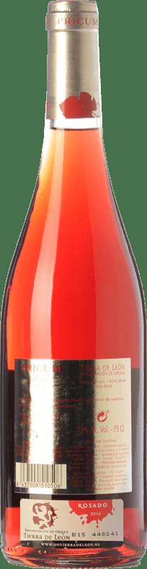 9,95 € Kostenloser Versand | Rosé-Wein Margón Pricum D.O. Tierra de León Kastilien und León Spanien Prieto Picudo Flasche 75 cl