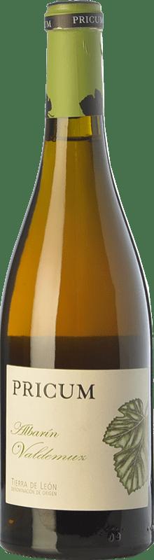 26,95 € Envío gratis | Vino blanco Margón Pricum Valdemuz Crianza D.O. León Castilla y León España Albarín Botella 75 cl