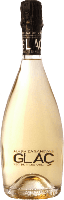 32,95 € Free Shipping | White sparkling Maria Casanovas Glaç Brut Nature Reserva D.O. Cava Catalonia Spain Pinot Black, Macabeo, Xarel·lo, Parellada Magnum Bottle 1,5 L. | Thousands of wine lovers trust us to get the best price guarantee, free shipping always and hassle-free shopping and returns.