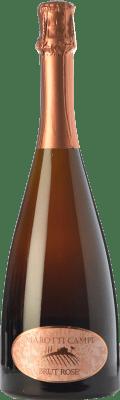 15,95 € Free Shipping | Rosé sparkling Marotti Campi Rosé Brut D.O.C. Lacrima di Morro d'Alba Marche Italy Lacrima Bottle 75 cl