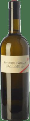 17,95 € Free Shipping | White wine Raventós Marqués d'Alella Blanc Allier Crianza D.O. Alella Catalonia Spain Chardonnay Bottle 75 cl