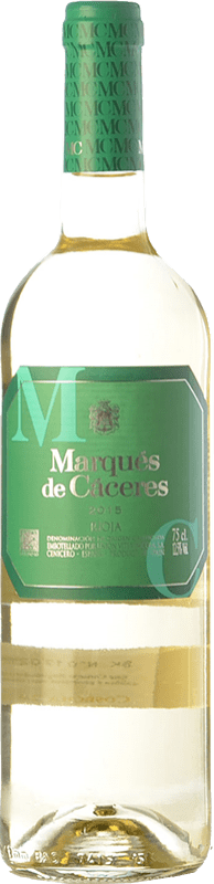 4,95 € Free Shipping | White wine Marqués de Cáceres Joven D.O.Ca. Rioja The Rioja Spain Viura Bottle 75 cl