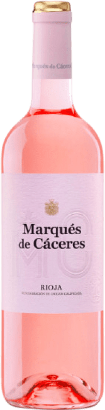 4,95 € Free Shipping | Rosé wine Marqués de Cáceres D.O.Ca. Rioja The Rioja Spain Tempranillo, Grenache Bottle 75 cl