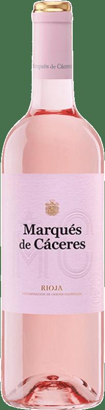5,95 € Envoi gratuit | Vin rose Marqués de Cáceres D.O.Ca. Rioja La Rioja Espagne Tempranillo, Grenache Bouteille 75 cl