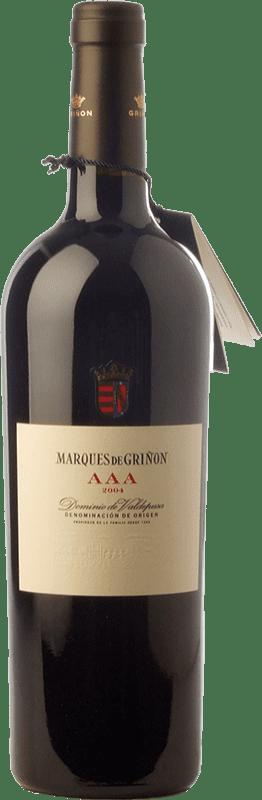 156,95 € Free Shipping | Red wine Marqués de Griñón AAA Reserva 2008 D.O.P. Vino de Pago Dominio de Valdepusa Castilla la Mancha Spain Graciano Bottle 75 cl