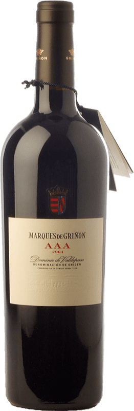 149,95 € Envío gratis | Vino tinto Marqués de Griñón AAA Reserva 2008 D.O.P. Vino de Pago Dominio de Valdepusa Castilla la Mancha España Graciano Botella 75 cl