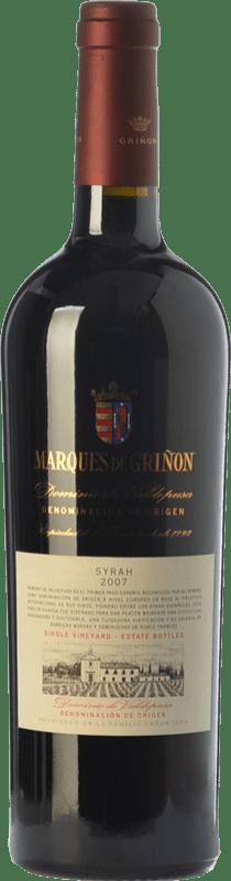 24,95 € Free Shipping | Red wine Marqués de Griñón Crianza D.O.P. Vino de Pago Dominio de Valdepusa Castilla la Mancha Spain Syrah Bottle 75 cl