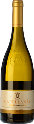 22,95 € Free Shipping | White wine Marqués de Murrieta Capellanía Crianza D.O.Ca. Rioja The Rioja Spain Viura Bottle 75 cl | Thousands of wine lovers trust us to get the best price guarantee, free shipping always and hassle-free shopping and returns.