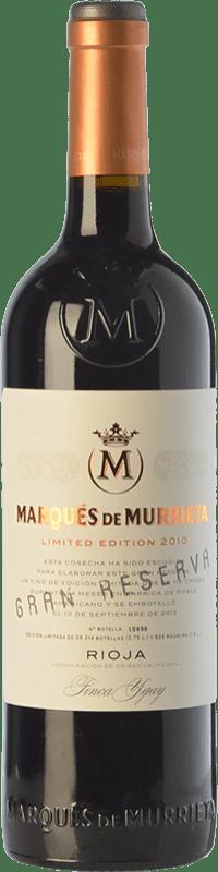 104,95 € Spedizione Gratuita | Vino rosso Marqués de Murrieta Gran Reserva 2011 D.O.Ca. Rioja La Rioja Spagna Tempranillo, Grenache, Graciano, Mazuelo Bottiglia Magnum 1,5 L