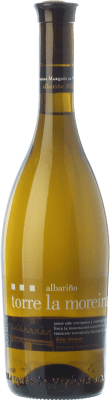 8,95 € Free Shipping | White wine Marqués de Vizhoja Torre La Moreira D.O. Rías Baixas Galicia Spain Albariño Bottle 75 cl | Thousands of wine lovers trust us to get the best price guarantee, free shipping always and hassle-free shopping and returns.