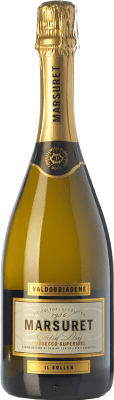 9,95 € Free Shipping | White sparkling Marsuret Extra Dry D.O.C. Prosecco Veneto Italy Glera Bottle 75 cl | Thousands of wine lovers trust us to get the best price guarantee, free shipping always and hassle-free shopping and returns.