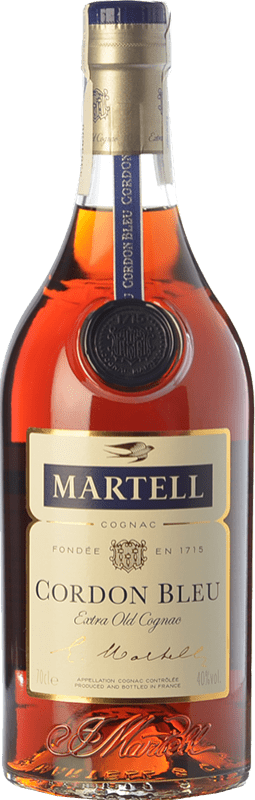 101,95 € Free Shipping | Cognac Martell Cordon Bleu A.O.C. Cognac France Bottle 70 cl