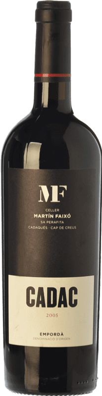 35,95 € Free Shipping | Red wine Martín Faixó MF Cadac Crianza D.O. Empordà Catalonia Spain Grenache, Cabernet Sauvignon Bottle 75 cl