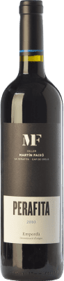 19,95 € Envío gratis | Vino tinto Martín Faixó MF Perafita Joven D.O. Empordà Cataluña España Merlot, Garnacha, Cabernet Sauvignon Botella 75 cl