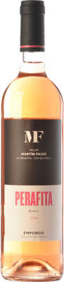 9,95 € Envoi gratuit | Vin rose Martín Faixó MF Perafita Rosat D.O. Empordà Catalogne Espagne Merlot, Grenache Bouteille 75 cl