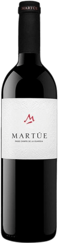 8,95 € Free Shipping | Red wine Martúe Joven D.O.P. Vino de Pago Campo de la Guardia Castilla la Mancha Spain Tempranillo, Merlot, Syrah, Cabernet Sauvignon Bottle 75 cl