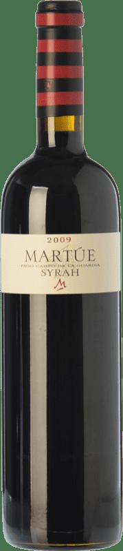 17,95 € Free Shipping | Red wine Martúe Crianza D.O.P. Vino de Pago Campo de la Guardia Castilla la Mancha Spain Syrah Bottle 75 cl