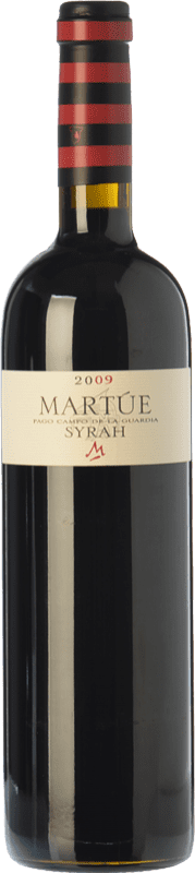17,95 € Envoi gratuit | Vin rouge Martúe Crianza D.O.P. Vino de Pago Campo de la Guardia Castilla La Mancha Espagne Syrah Bouteille 75 cl