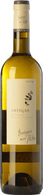 28,95 € Envío gratis | Vino blanco Mas Alta Artigas Blanc Crianza D.O.Ca. Priorat Cataluña España Garnacha Blanca, Macabeo, Pedro Ximénez Botella 75 cl