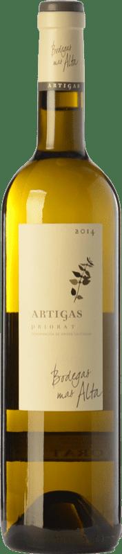 28,95 € Envoi gratuit | Vin blanc Mas Alta Artigas Blanc Crianza D.O.Ca. Priorat Catalogne Espagne Grenache Blanc, Macabeo, Pedro Ximénez Bouteille 75 cl