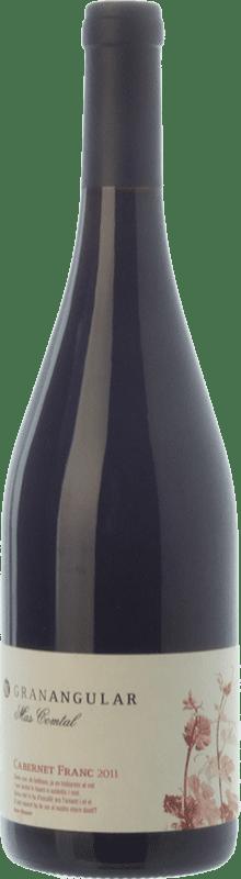 13,95 € Free Shipping | Red wine Mas Comtal Gran Angular Crianza D.O. Penedès Catalonia Spain Cabernet Franc Bottle 75 cl