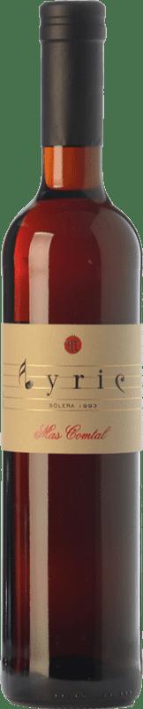 29,95 € Free Shipping | Sweet wine Mas Comtal Lyric Solera D.O. Penedès Catalonia Spain Merlot Bottle 75 cl