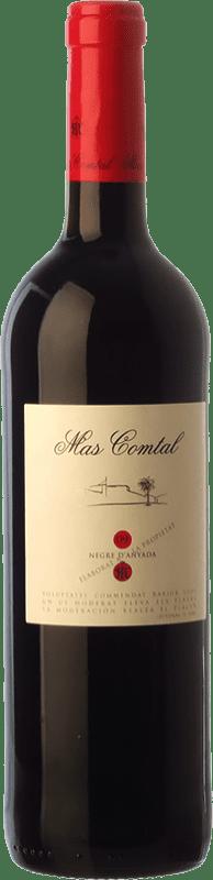 6,95 € Free Shipping | Red wine Mas Comtal Negre d'Anyada Joven D.O. Penedès Catalonia Spain Merlot, Grenache Bottle 75 cl