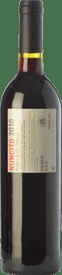 18,95 € Envío gratis | Vino tinto Mas de les Pereres Nuncito Crianza D.O.Ca. Priorat Cataluña España Syrah, Garnacha, Cariñena Botella 75 cl