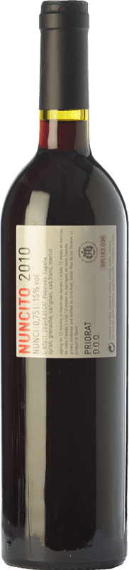 18,95 € Free Shipping | Red wine Mas de les Pereres Nuncito Crianza D.O.Ca. Priorat Catalonia Spain Syrah, Grenache, Carignan Bottle 75 cl