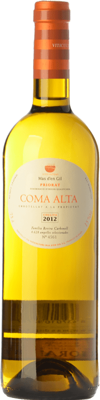 26,95 € Free Shipping | White wine Mas d'en Gil Coma Alta Crianza D.O.Ca. Priorat Catalonia Spain Grenache White, Viognier Bottle 75 cl