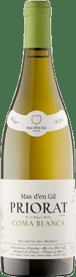 47,95 € Envío gratis | Vino blanco Mas d'en Gil Coma Blanca Crianza D.O.Ca. Priorat Cataluña España Garnacha Blanca, Macabeo Botella 75 cl
