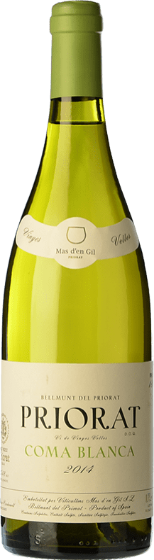 46,95 € Free Shipping | White wine Mas d'en Gil Coma Blanca Crianza D.O.Ca. Priorat Catalonia Spain Grenache White, Macabeo Bottle 75 cl