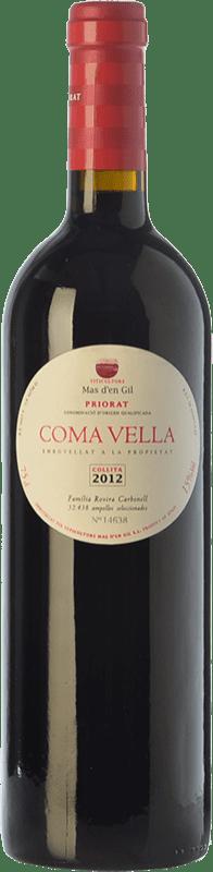 25,95 € Free Shipping | Red wine Mas d'en Gil Coma Vella Crianza D.O.Ca. Priorat Catalonia Spain Merlot, Syrah, Grenache, Cabernet Sauvignon, Carignan, Grenache Hairy Bottle 75 cl