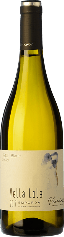 8,95 € Free Shipping | White wine Viníric Vella Lola Blanc D.O. Empordà Catalonia Spain Grenache White, Muscatel, Macabeo, Xarel·lo Bottle 75 cl