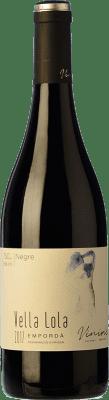 8,95 € Envío gratis | Vino tinto Viníric Vella Lola Negre Crianza D.O. Empordà Cataluña España Syrah, Garnacha Botella 75 cl