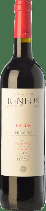 18,95 € Free Shipping | Red wine Mas Igneus Fa 206 Joven D.O.Ca. Priorat Catalonia Spain Syrah, Grenache, Cabernet Sauvignon, Carignan Bottle 75 cl