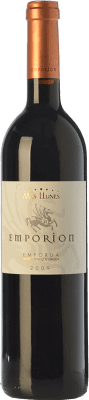 17,95 € Free Shipping | Red wine Mas Llunes Emporion Crianza D.O. Empordà Catalonia Spain Syrah, Cabernet Sauvignon Bottle 75 cl