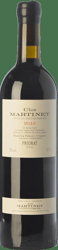 202,95 € Free Shipping | Red wine Mas Martinet Clos Crianza D.O.Ca. Priorat Catalonia Spain Merlot, Syrah, Grenache, Cabernet Sauvignon, Carignan Jéroboam Bottle-Double Magnum 3 L