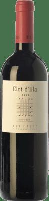 13,95 € Free Shipping | Red wine Mas Pòlit Clot d'Illa Joven D.O. Empordà Catalonia Spain Syrah, Grenache Bottle 75 cl