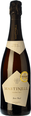 11,95 € Free Shipping | White sparkling Mas Tinell Real Brut Reserva D.O. Cava Catalonia Spain Macabeo, Xarel·lo, Parellada Bottle 75 cl. | Thousands of wine lovers trust us to get the best price guarantee, free shipping always and hassle-free shopping and returns.